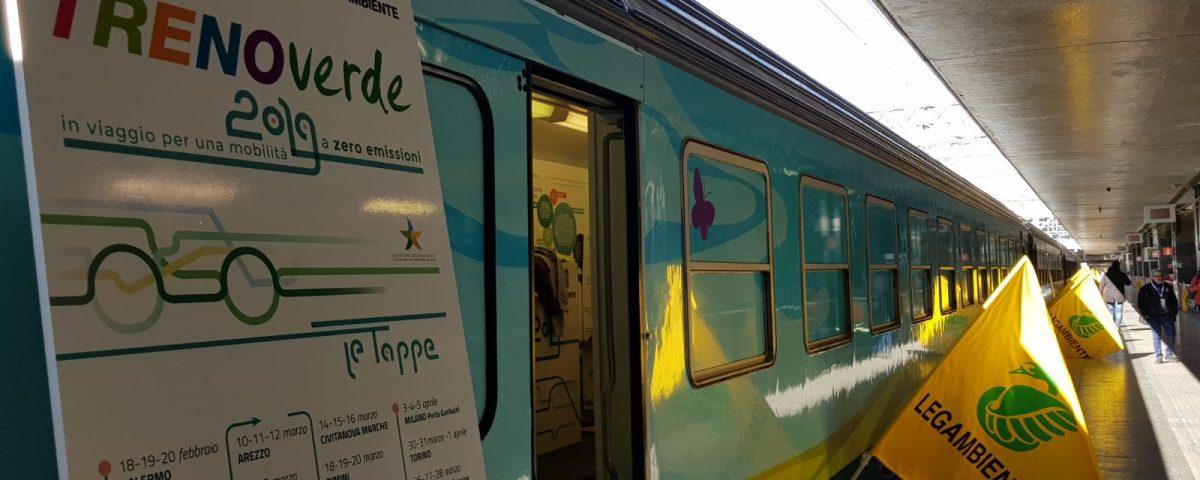 Mobilità sostenibile, parte da Palermo il Treno Verde di Legambiente e FS