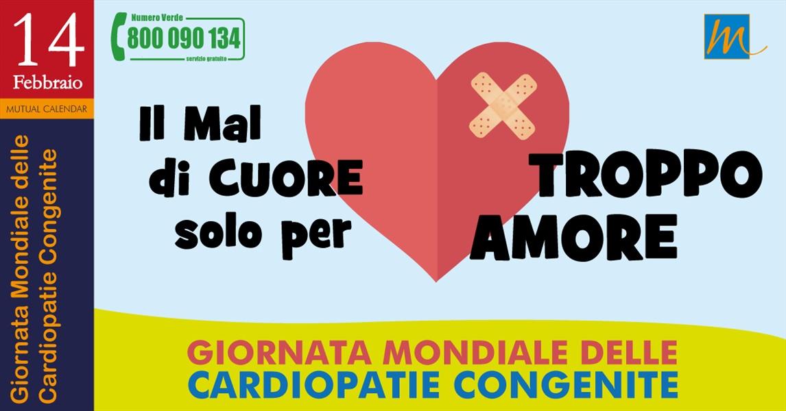 San Valentino, giornata mondiale delle cardiopatie congenite
