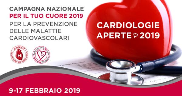 Campagna Nazionale per  la prevenzione alle malattie cardiovascolari
