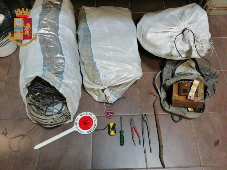 Messina: ladri di rame in azione, ma uno dei tre rimane folgorato. Ricoverato con gravi ustioni al Cannizzaro di Catania