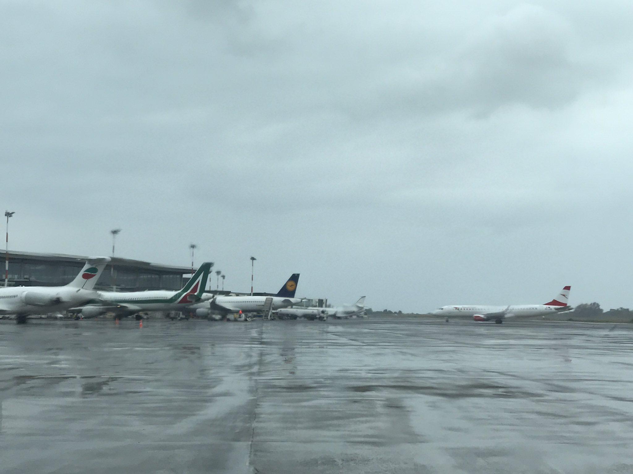 Aeroporto di Catania: possibili ritardi sui voli in arrivo e in partenza a causa del maltempo