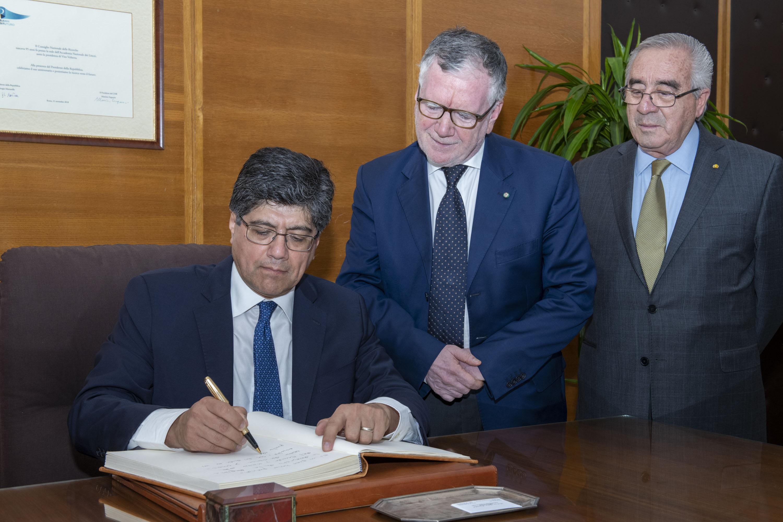 Ecuador ed Italia: più vicini grazie alla ricerca scientifica e la cooperazione accademica