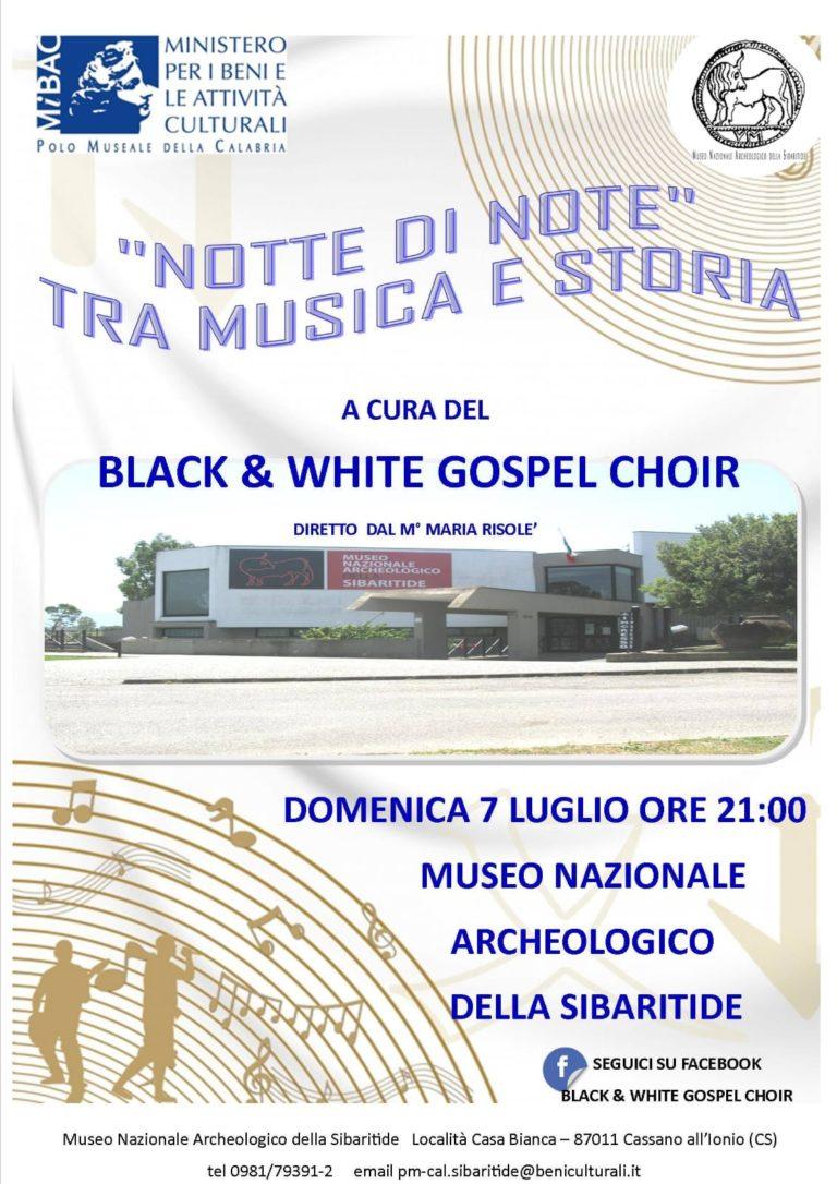 """""""Notte di note"""" al Museo Nazionale Archeologico della Sibaritide. Appuntamento il 7 luglio"""