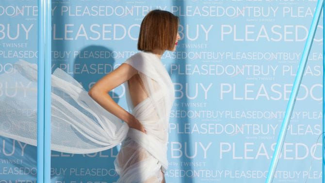 PLEASEDONTBUY signed by Twinset, la moda diventa condivisa