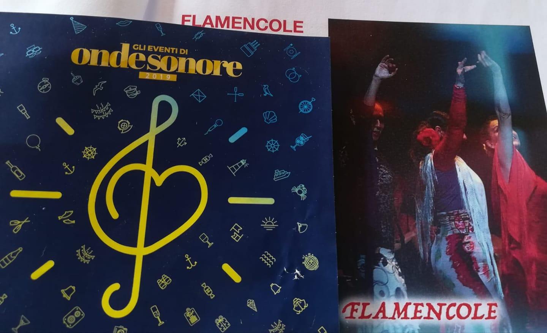 """La passionale danza delle """"Flamencole"""" ha chiuso la rassegna Onde Sonore. VIDEO"""