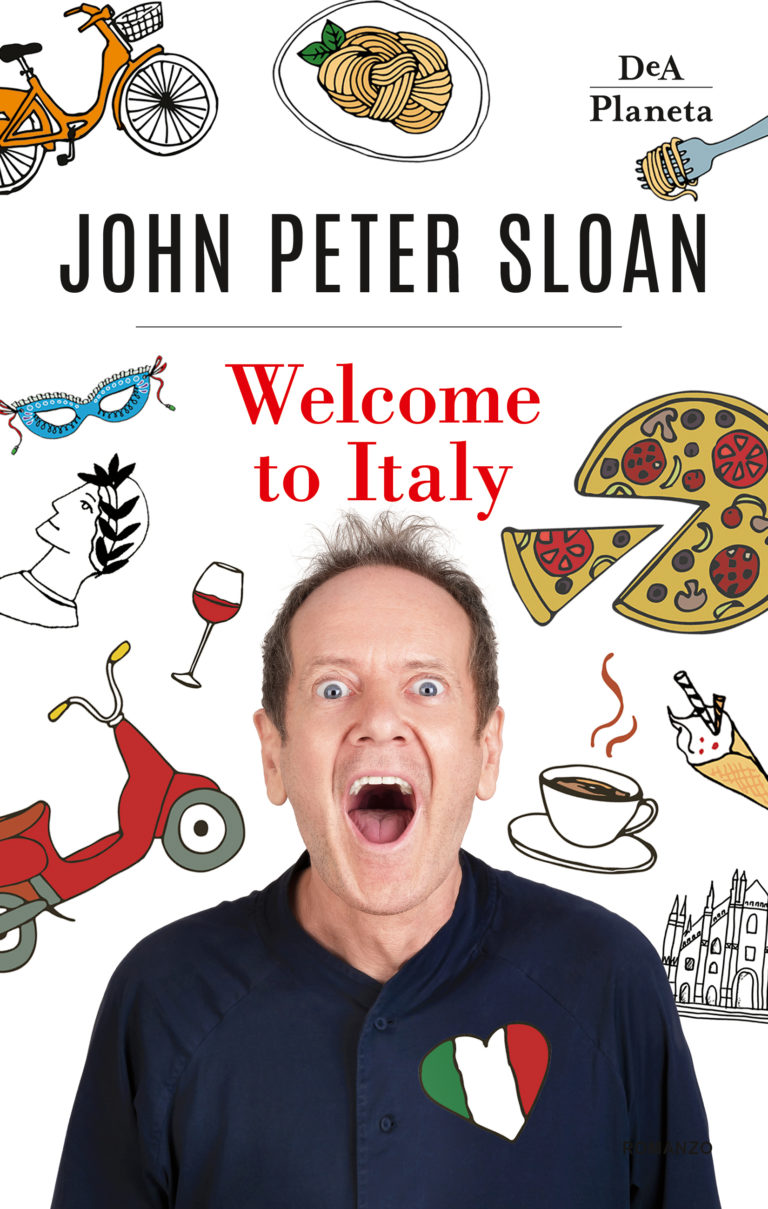 """Peter Sloan presenta """"Welcome to Italy"""""""