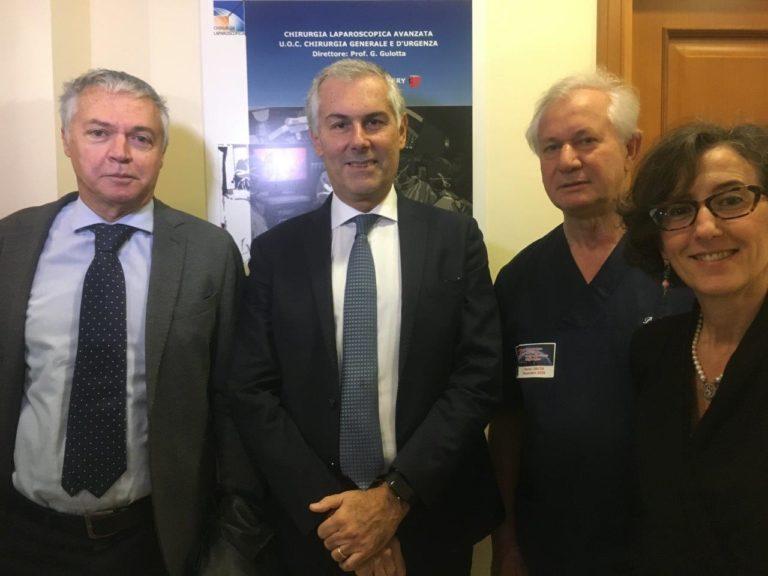 Palermo presente alla maratona di video chirurgia mondiale a Roma con una sessione di live surgery