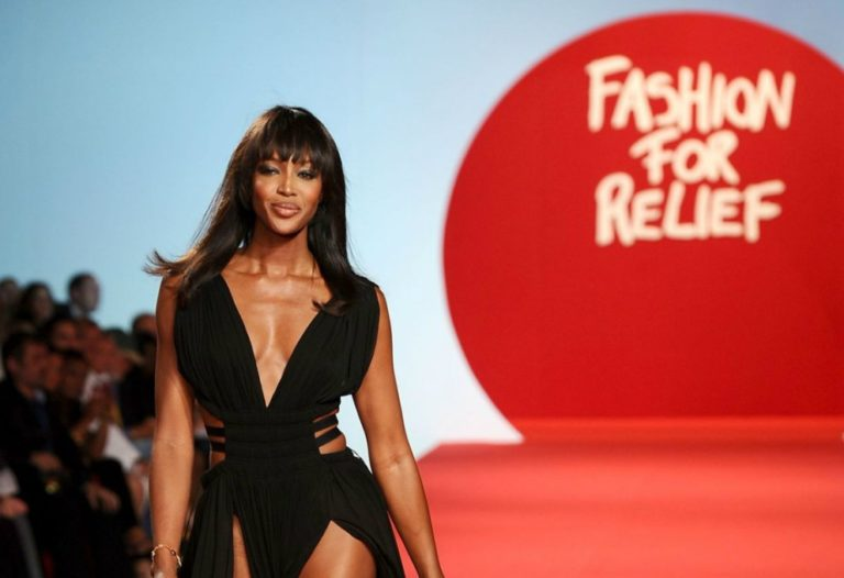 Naomi Campbell apre un pop up store per Fashion For Relief
