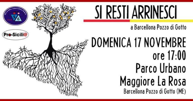 """""""Si resti arrinesci"""": tappa a Barcellona Pozzo di Gotto"""