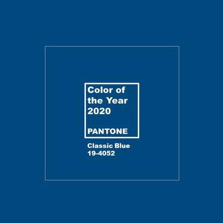 Il Classic Blue è il colore per il 2020, secondo Pantone