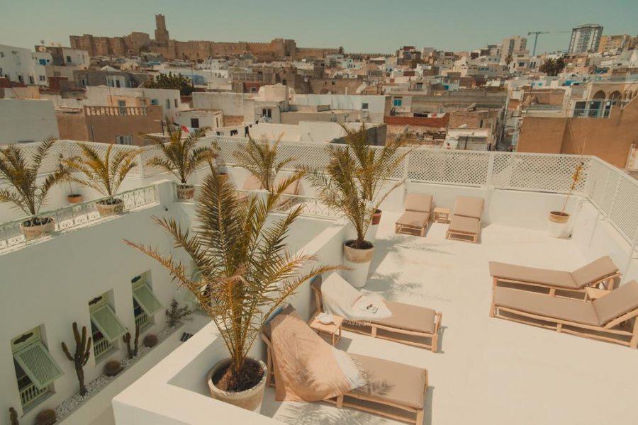 Sulle terrazze più suggestive della Tunisia per godere delle belle giornate