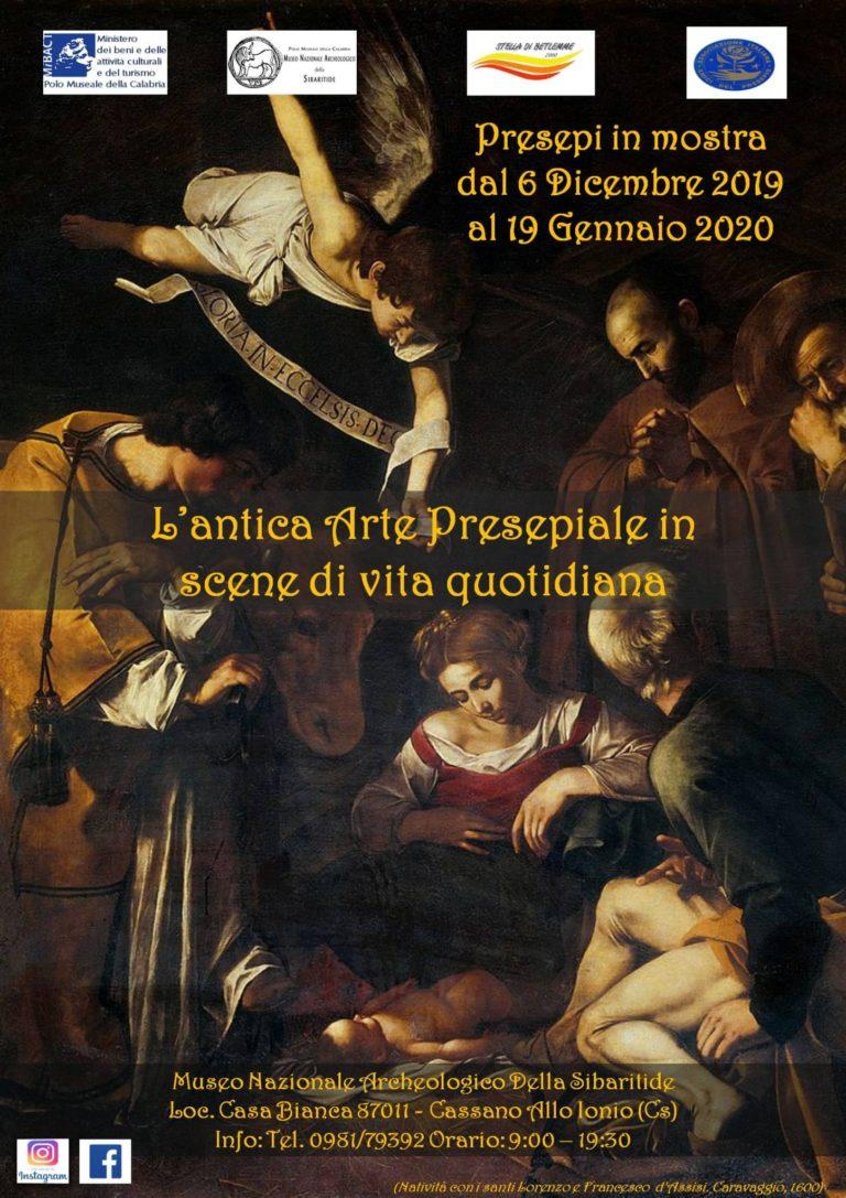 L'antica arte presepiale in scena di vita quotidiana: a Cassano all'Ionio la mostra per le festività natalizie