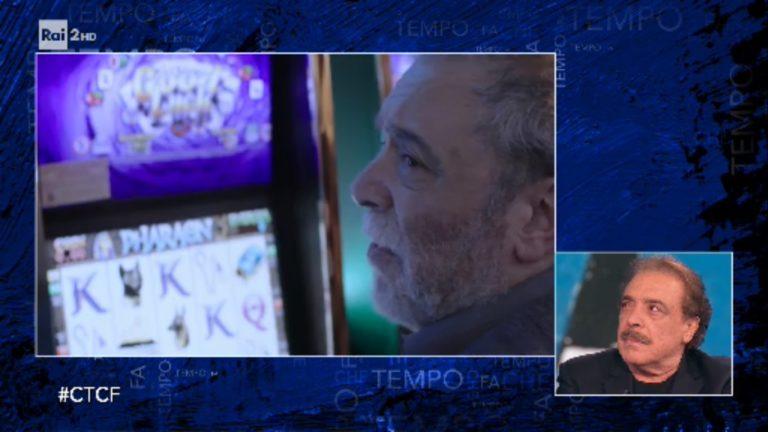 Nino Frassica a Che tempo Che fa presenta il corto contro la ludopatia