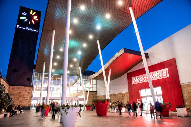 Ai siciliani piacciono i centri commerciali. Al Forum 9 milioni di ingressi nel 2019