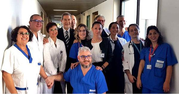 Cefalù, Fondazione Giglio: inaugurato il nuovo reparto con i laboratori di emodinamica ed elettrofisiologia cardiaca