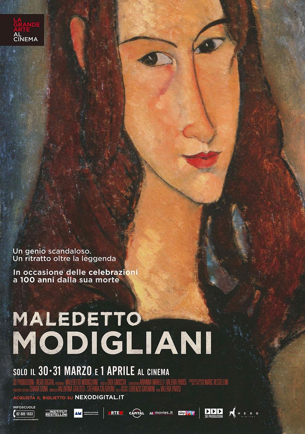 """Il """"Maledetto Modigliani"""" visto con gli occhi di Jeanne Hébuterne"""