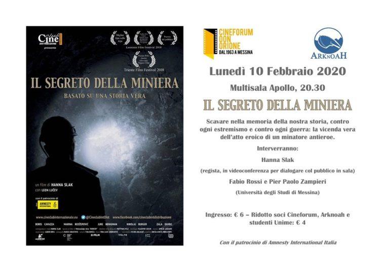 """""""Il segreto della miniera"""", il 10 febbraio a Messina"""
