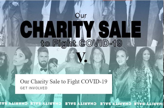 Vestiaire Collective lancia una vendita speciale per combatter il COVID-19