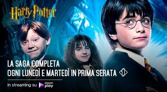 """Su Italia 1 la saga completa di """"Harry Potter"""". Ecco tutti gli appuntamenti"""