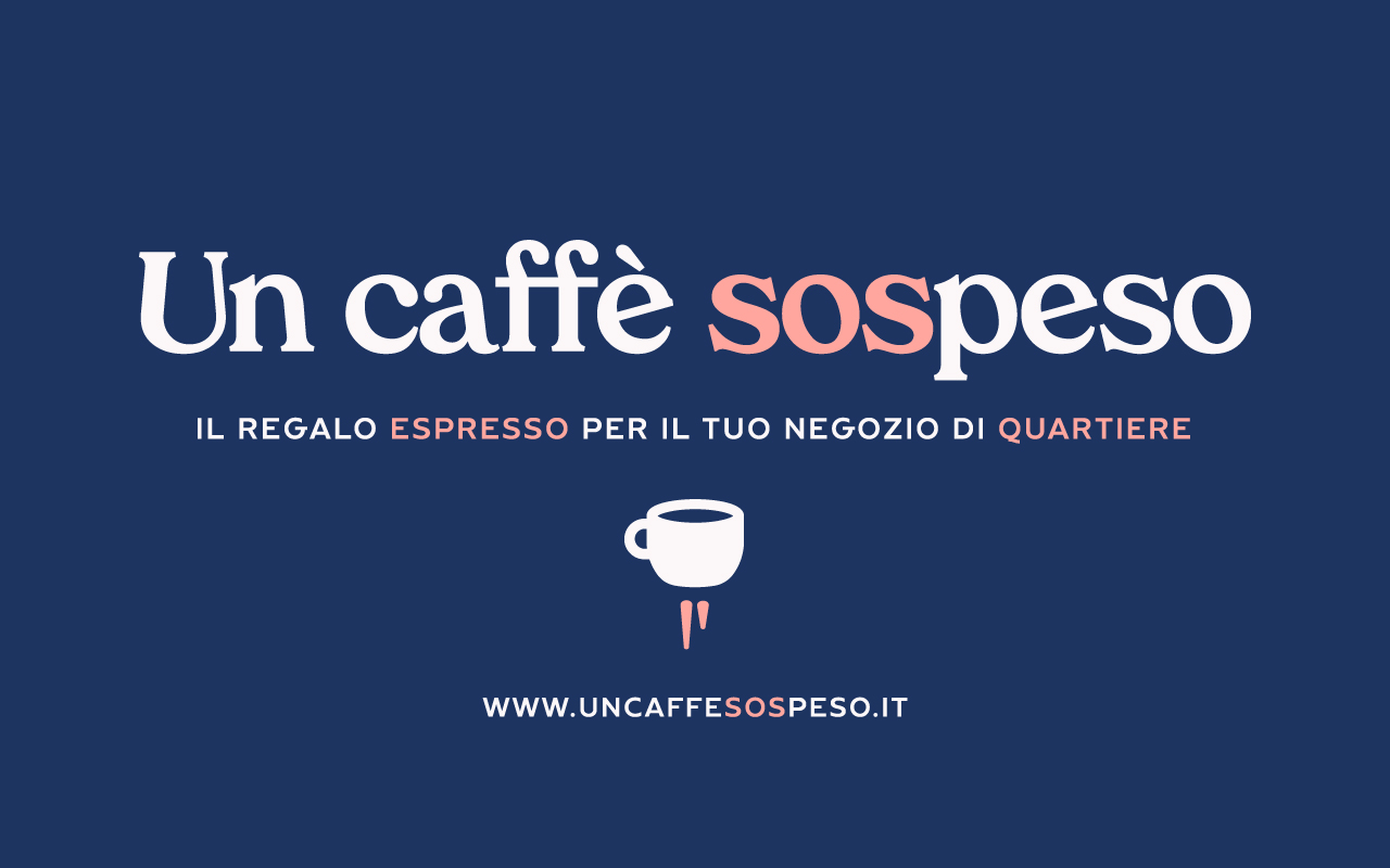 """""""UnCaffèSospeso.it"""", la piattaforma che sostiene i negozi di quartiere nell'emergenza COVID-19"""