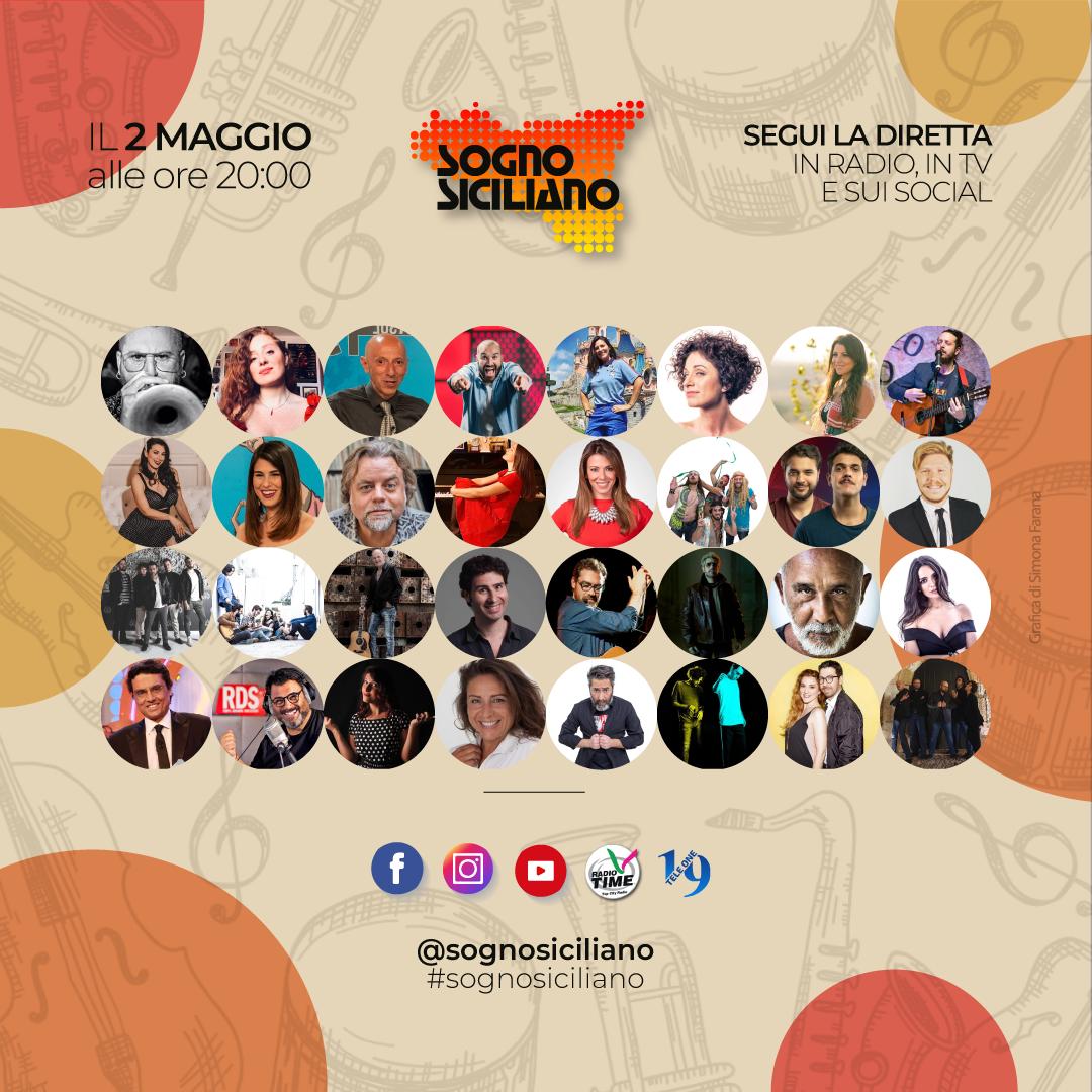 Sogno siciliano: anche Mario Biondi tra gli artisti del concerto in streaming di sabato 2 maggio