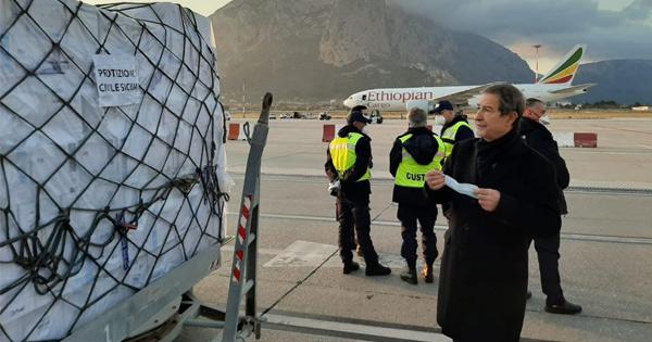 Sicilia: arrivati i dispositivi di protezione per la sanità dell'isola