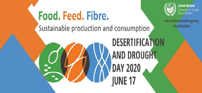 """17 giugno, Giornata mondiale 2020 per la lotta alla desertificazione e alla siccità: """"terra sana, persone sane"""""""