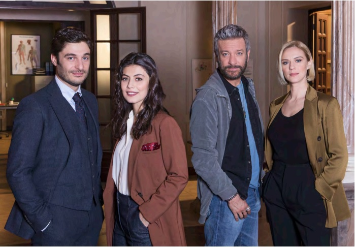 Grande attesa per L'Allieva 3, con Lino Guanciale e Alessandra Mastronardi