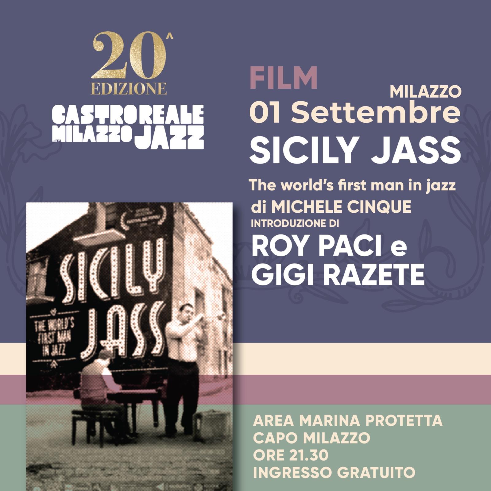 CastrorealeMilazzo Jazz Festival 2020: il gran finale nell'Area Marina Protetta Capo Milazzo