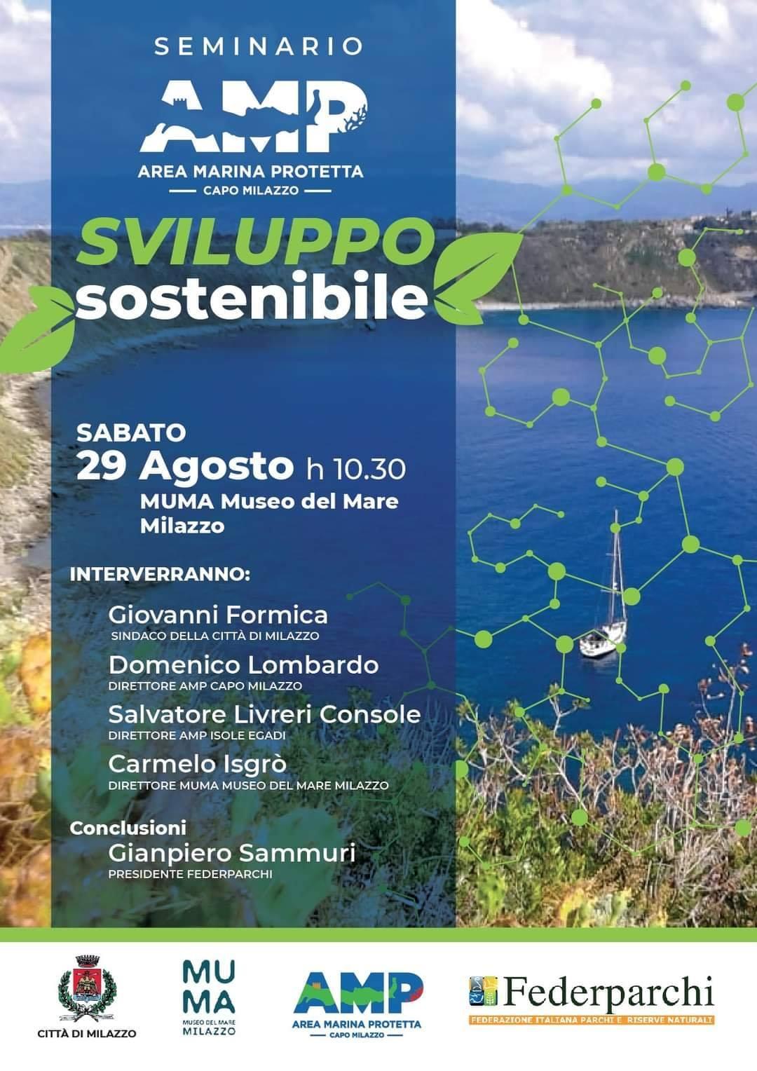 """MuMa Milazzo: seminario sullo """"Sviluppo sostenibile"""""""