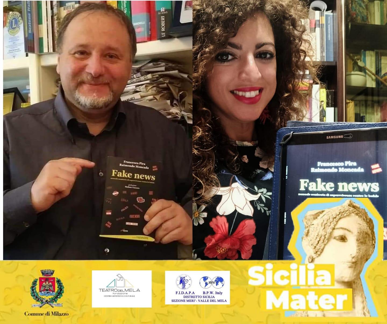 """Viaggio nelle """"Fake news tra scienza e fantascienza"""" con Francesco Pira. L'evento online con Sicilia Mater"""