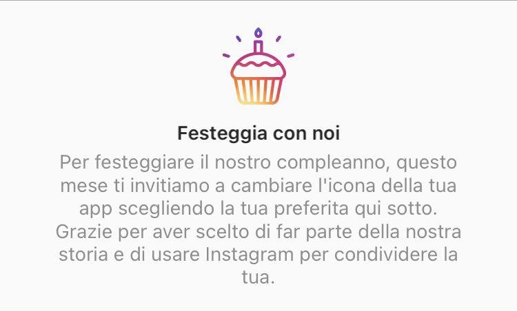 Buon compleanno Instagram!