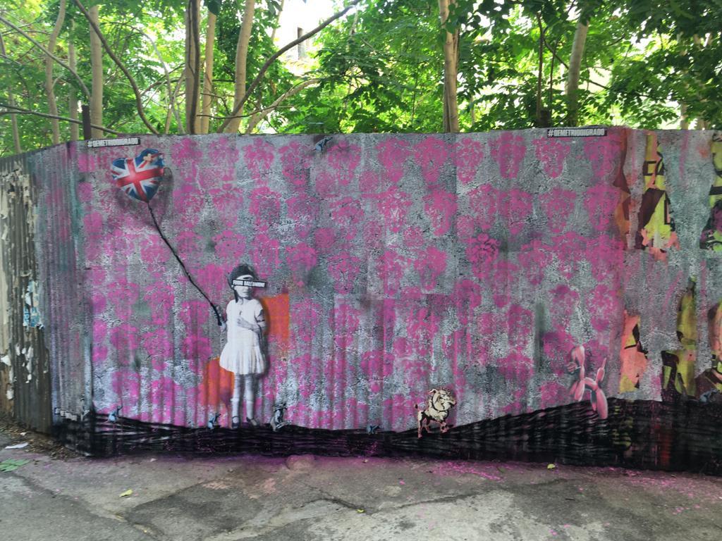 Cresce l'attesa per la mostra di Banksy, dal 7 ottobre a Palermo