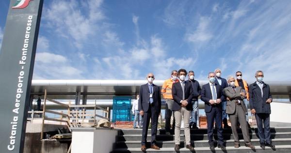 Aeroporto di Catania, pochi mesi alla svolta: fermata ferroviaria di Fontanarossa quasi pronta