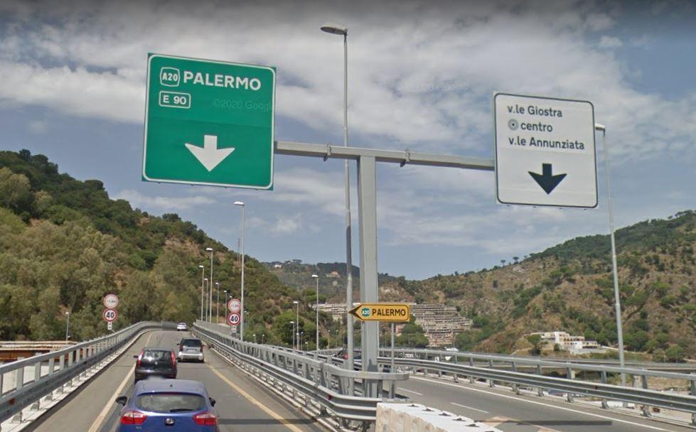 """Messina, A20: interruzione """"saltuaria"""" per lavori allo svincolo Giostra Annunziata"""