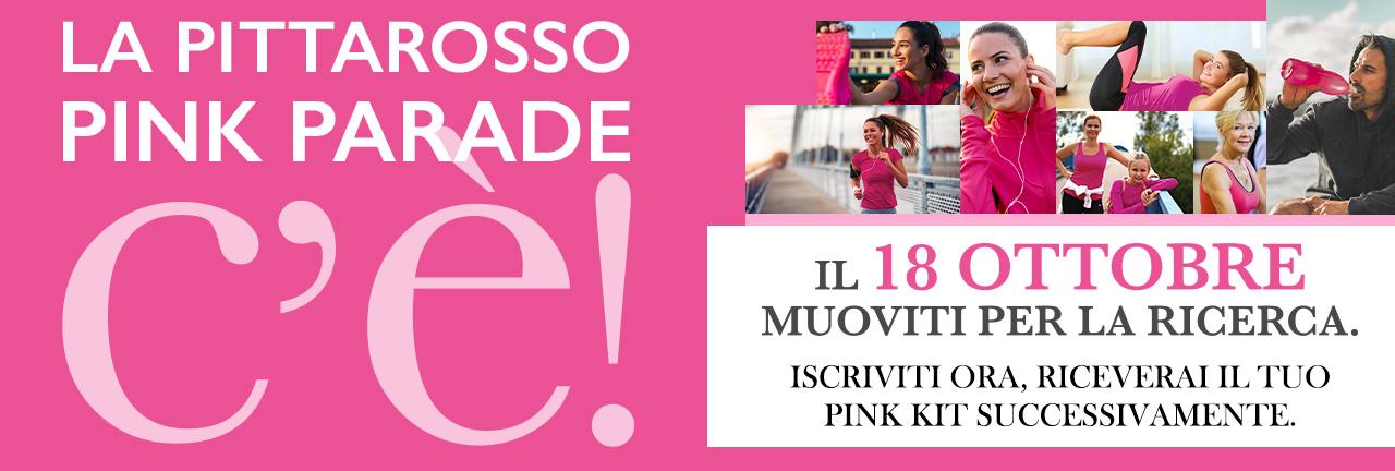 """Si """"corre"""" La PittaRosso Pink Parade"""