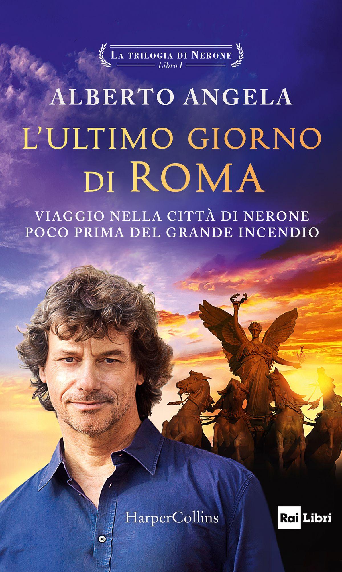 Alberto Angela torna in libreria con La Trilogia di Nerone