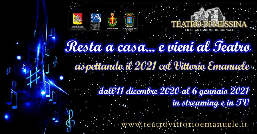 Aspettando il 2021: la rassegna natalizia del Teatro Vittorio Emanuele