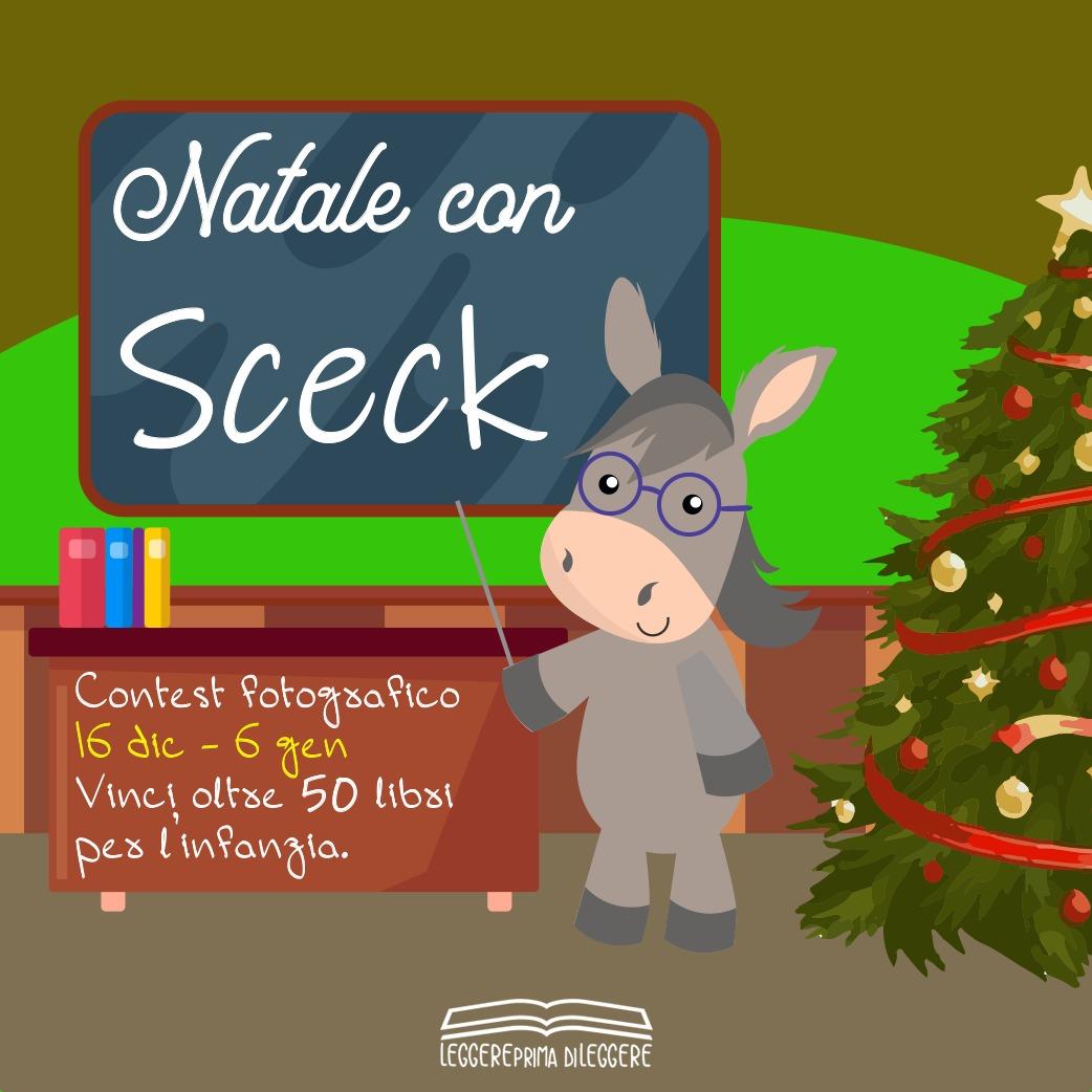 """""""Natale con Sceck"""" : il contest fotografico per le scuole. In palio un 'tesoretto di libri'"""
