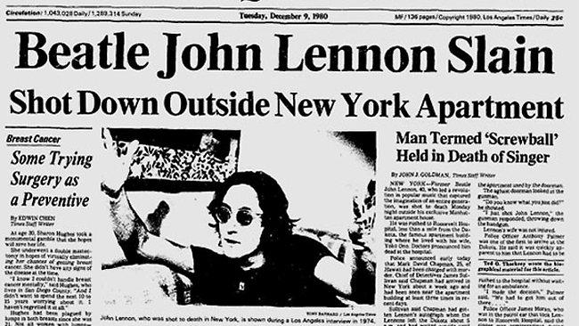 """8 dicembre 1980, """"hanno ammazzato John, John è vivo"""""""