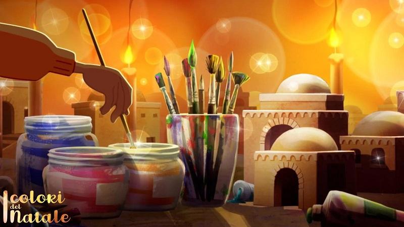 """""""I colori del Natale"""": per la vigilia un cortometraggio d'animazione speciale"""