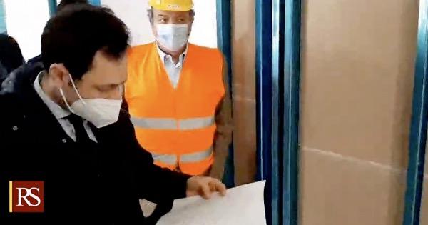 Sanità Sicilia: sopralluogo dell'assessore Razza al Policlinico di Messina
