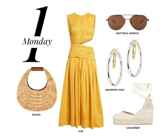 7 looks, 7 idee moda per la settimana