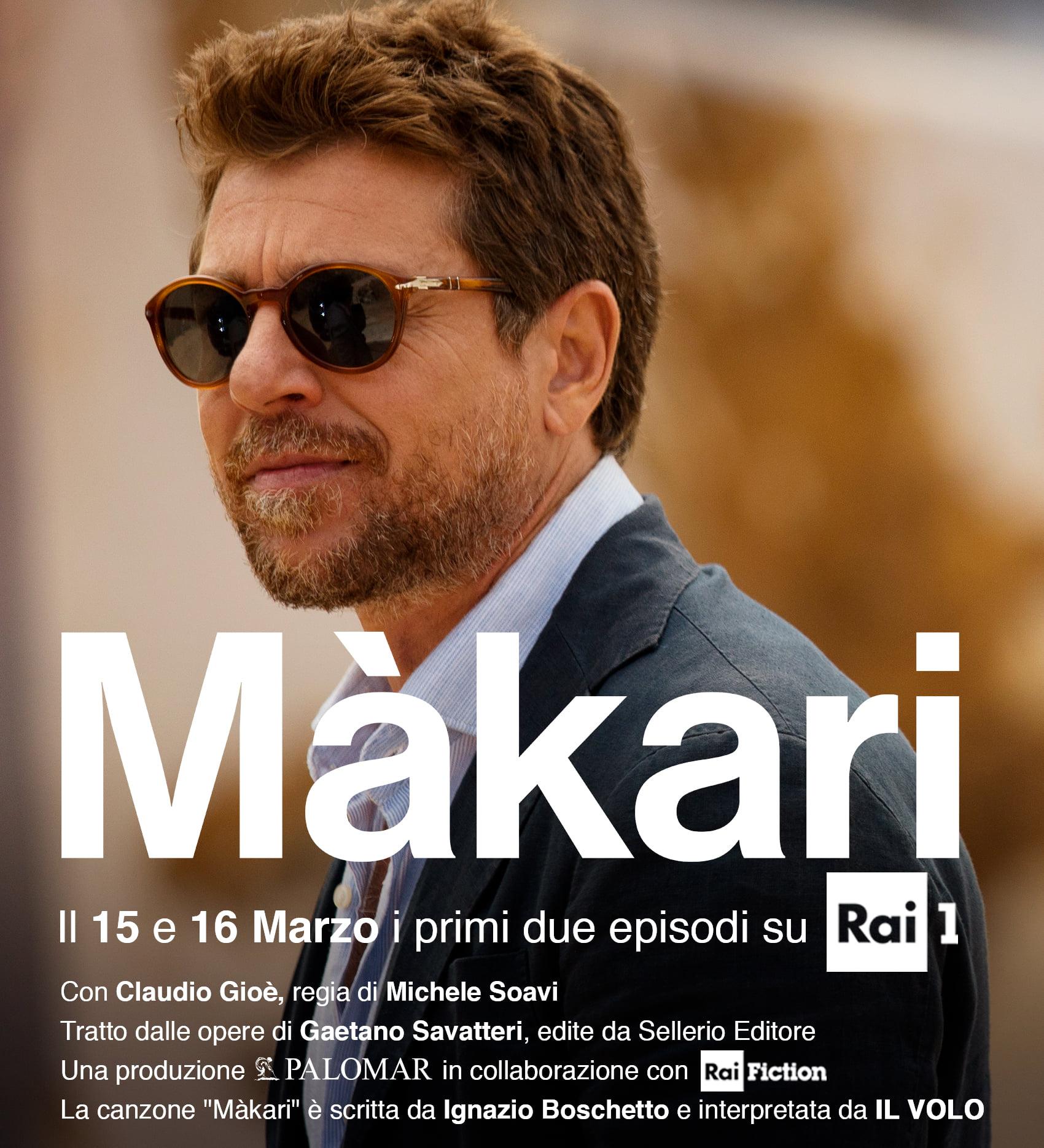 Màkari: secondo appuntamento su RaiUno con Claudio Gioè, investigatore per caso