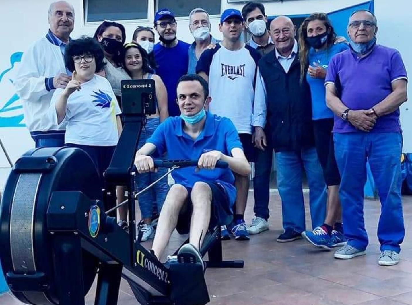 Club Nautico Paradiso e Panathlon Messina: progetto dedicato agli atleti disabili, acquistato un remoergometro