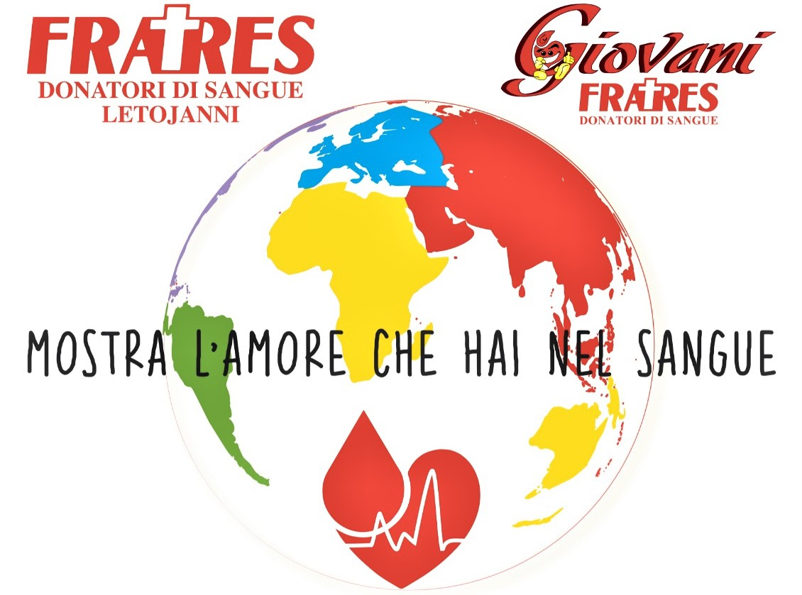 """""""Mostra l'amore che hai nel sangue"""": iniziativa del Gruppo Fratres Letojanni per la Giornata mondiale del donatore"""