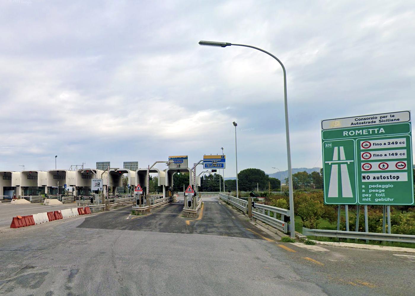 Riqualificazione A20: nuovo asfalto anche per lo svincolo di Rometta